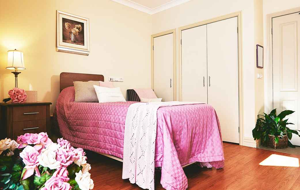 Chamberlain Gardens Aged Care in Wyoming offers 24-hour residential nursing care.