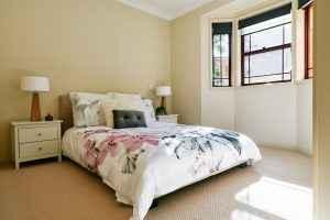 Westcourt Village Westmead master bedroom.