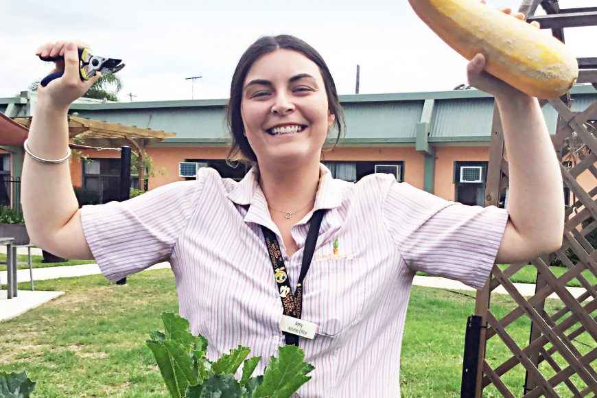 Gardening programs at Casa Mia Aged Care in Padstow.