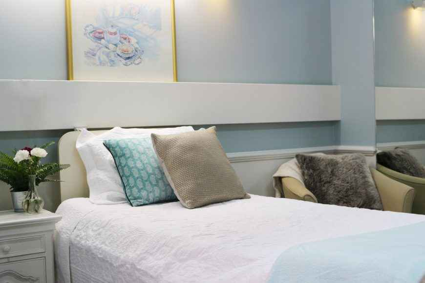 Private and companion rooms are available at Courtlands Aged Care in North Parramatta