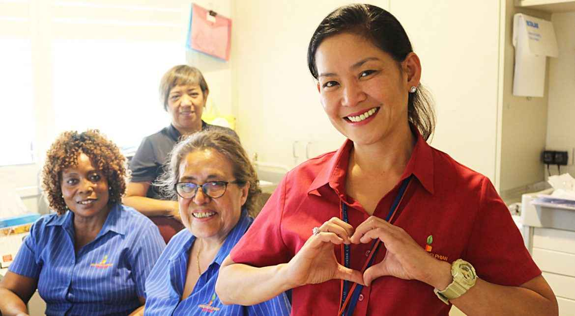 Northcourt Aged Care in North Parramatta offers 24-hour residential nursing care.