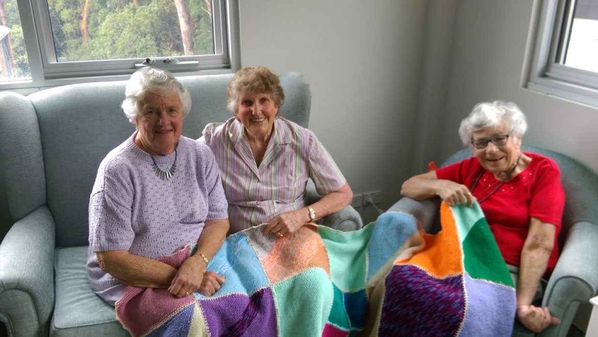 Volunteers at Southhaven Aged Care