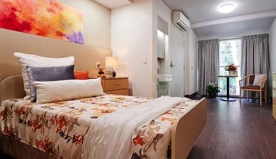 private and companion rooms.