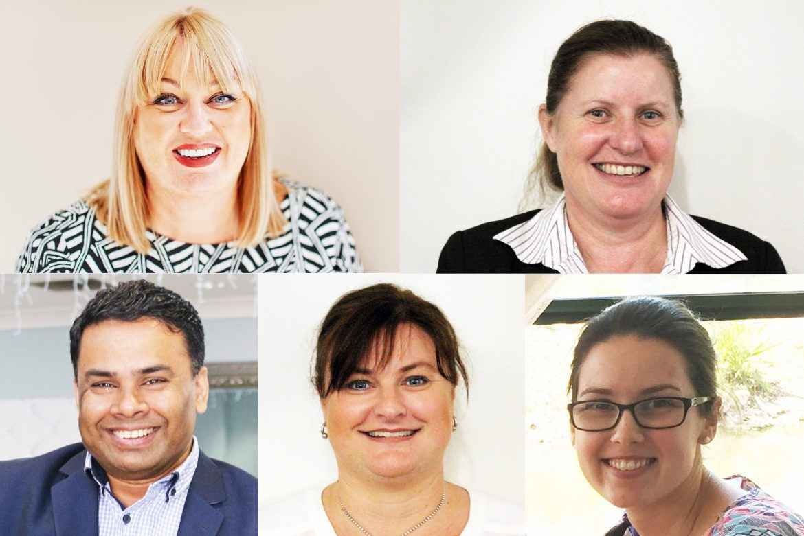 Some new faces joined the team at Christadelphian Aged Care.