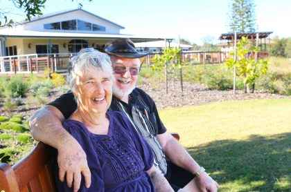 Lyn and Jeff Hermann have lived at Maranatha VIllage for five years.
