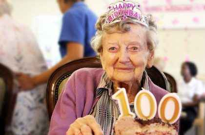 Courtlands Aged Care resident May has celebrated her 100th birthday at her North Parramatta Home.