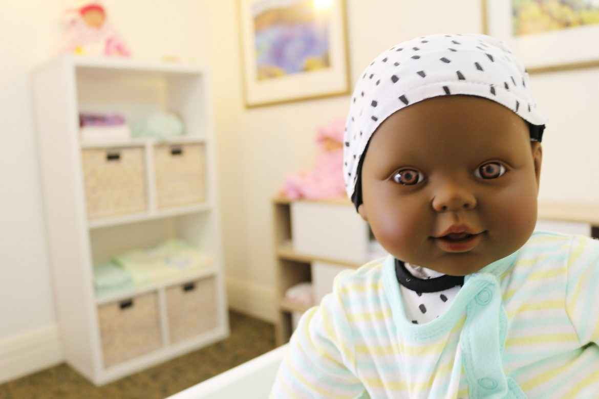 A new nursery has introduced doll therapy into Courtlands Aged Care's dementia program.