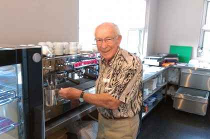 Max Gilmore is Christadelphian Aged Care's oldest volunteer.