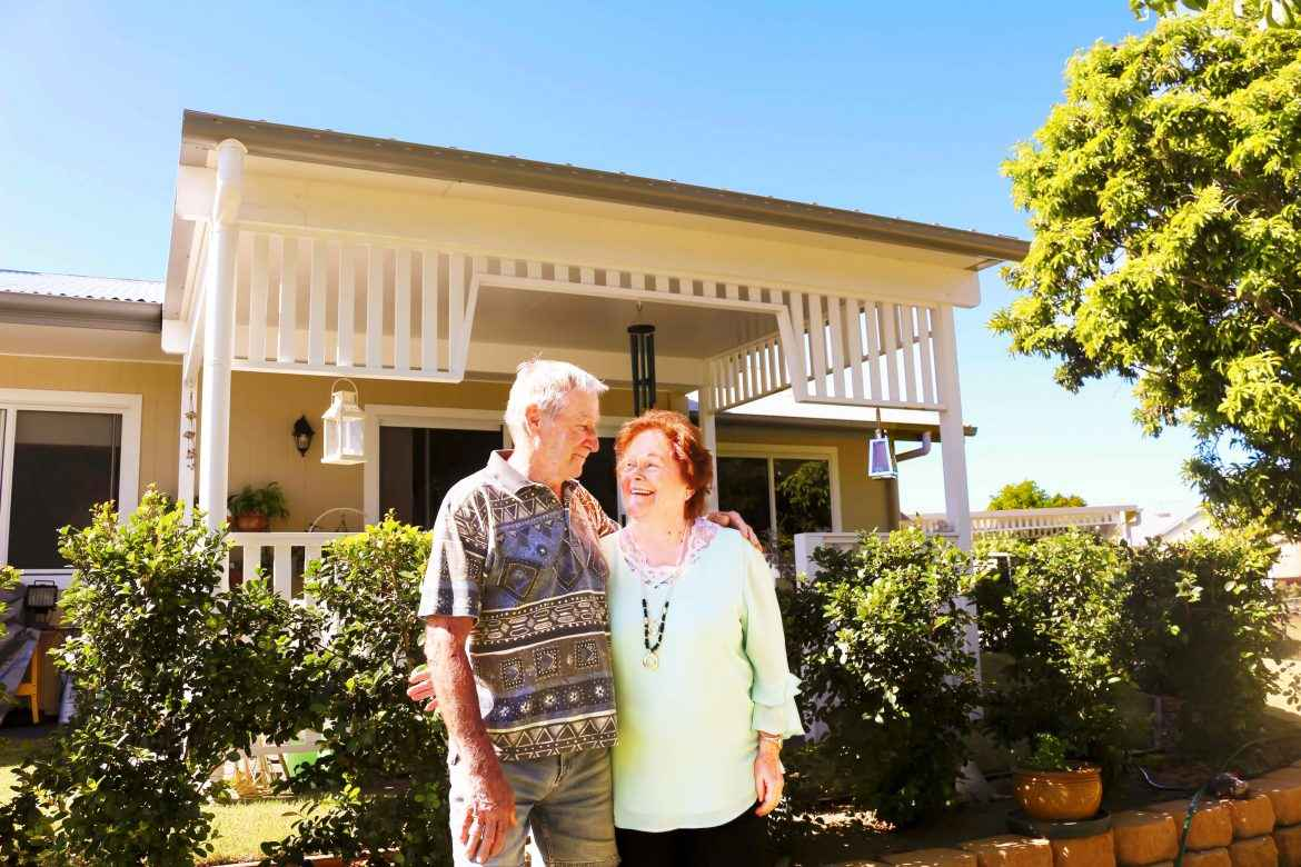 The Allgoods are some of the newest residents to retire at Maranatha Village in Kallangur.
