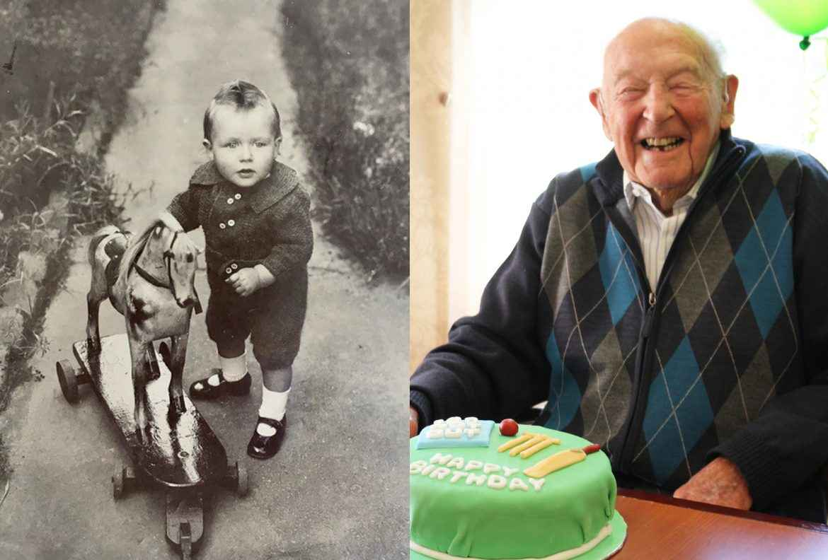 Ted Annabel turns 100.